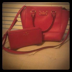 Kate spade hobo & wallet